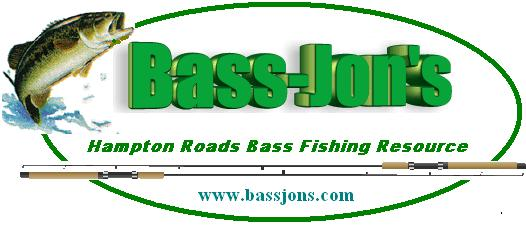 Bass-Jons Chickahominy River Tournament Results 8 Jule 2017